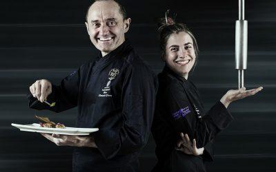 Fernando Flores y María Martínez en la colección Maestros del Reyno
