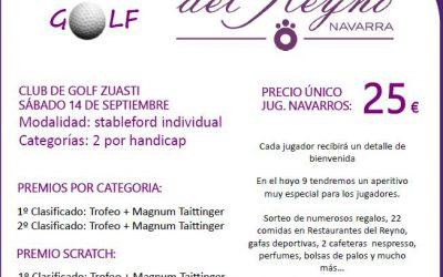 IV Torneo de Golf Restaurantes del Reyno