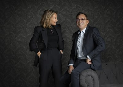 Mª Pilar y Ricardo del Restaurante Treintaitres